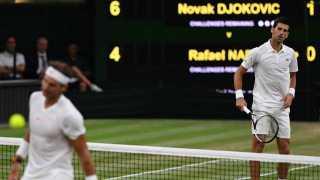 Nadal vs Djokovic match suspended