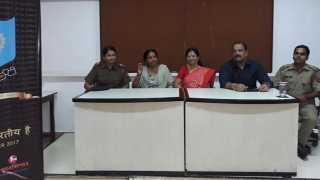 school press conference