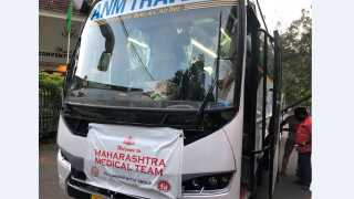 Maharashtra Medical team reaches Kerala