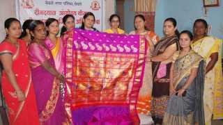 Manufacturers women bachatgat paithani