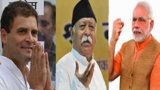Rahul Gandhi, Mohan Bhagwat, Narendra Modi