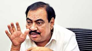 Eknath Khadse said suffering from untimely crime