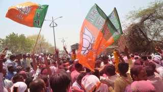 File photo of BJP Celebration