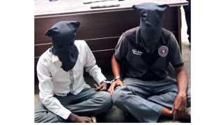 पोलिसांनी अटक केलेले आरोपी.