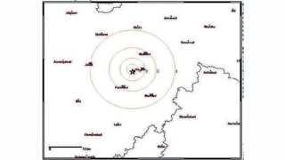 हिंगोली - वसमत तालुक्यातील पांगरा शिंदे येथे झालेल्या भूकंपाचा केंद्रबिंदू.