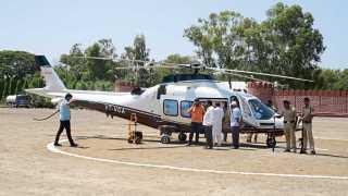 नगर -शिवसेना पक्षप्रमुख उद्धव ठाकरे यांचे हेलिकॉप्टरमध्ये तांत्रिक बिघाड झाल्याने उड्डाण होऊ शकले नाही.