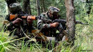 Marathi news Kashmir encounter Bandipora Commando martyred