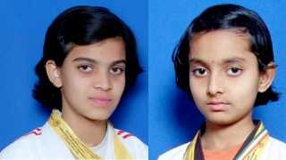 Jadhav sisters got gold medal in District Level Wrestling Championships