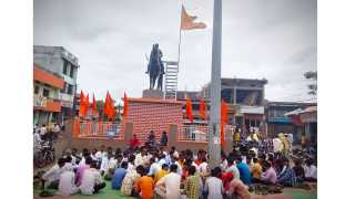 On behalf of the Maratha community there is a movement for various demands at the mentha