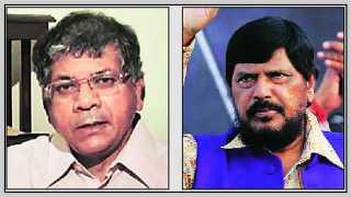 Prakash Ambedkar-&-Ramdas Athawale