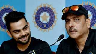 File photo of Virat Kohli and Ravi Shastri