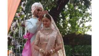 Actress Rubina Dilaik And Actor Abhinav Shuklas Wedding Photos