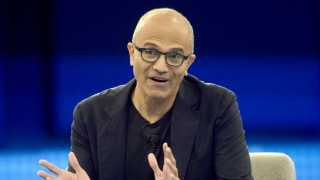 Satya Nadela become a craftsman Microsofts revenue is 100 dollar billion