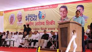 marathi News Health Camp will be held in every Taluka