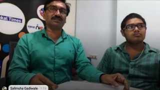 आदित्यचे वडील राजेंद्र डफ, आदित्य