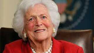 America Former First Lady Barbara Bush Died