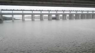 open the door of Dhalegaon Dam due to Heavy raining