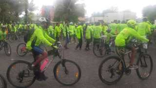 cycle dindi in Pandharpur