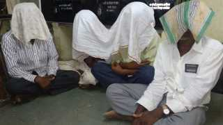 police action against gambling four arrested
