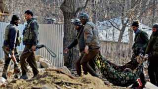 Killings of three terrorists in Kulgam