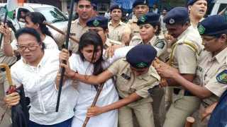 Congress Agitation Against Chakkajam at Kutthakali