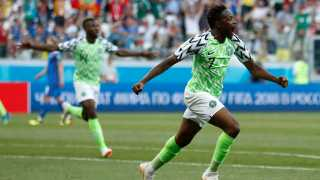 Nigeria beats Iceland in football World cup