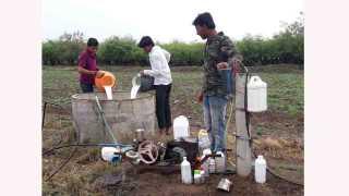#MilkAgitation Impact of milk agitation at mohol solapur