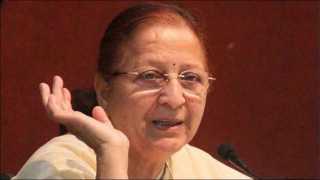 lok sabha speaker sumitra mahajan opposes reservation