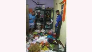 Big theft in Deputy Collectors home at vada palghar