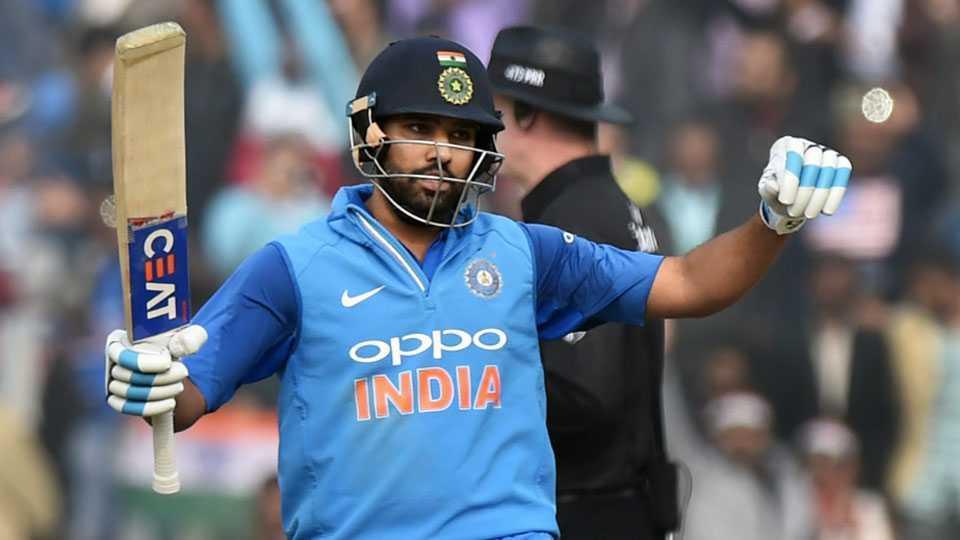 rohit sharma profilic batsman india vs sri lanka creates history hammers third odi double