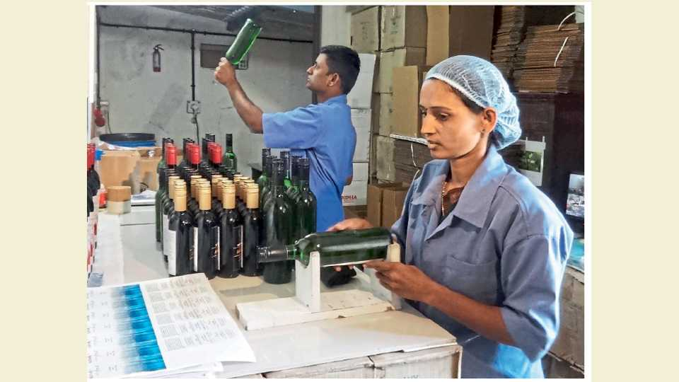 Surwade family raised nifty grape wine for Nifty family