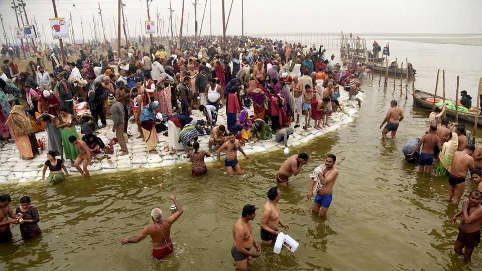 Magh Mela at Sangam
