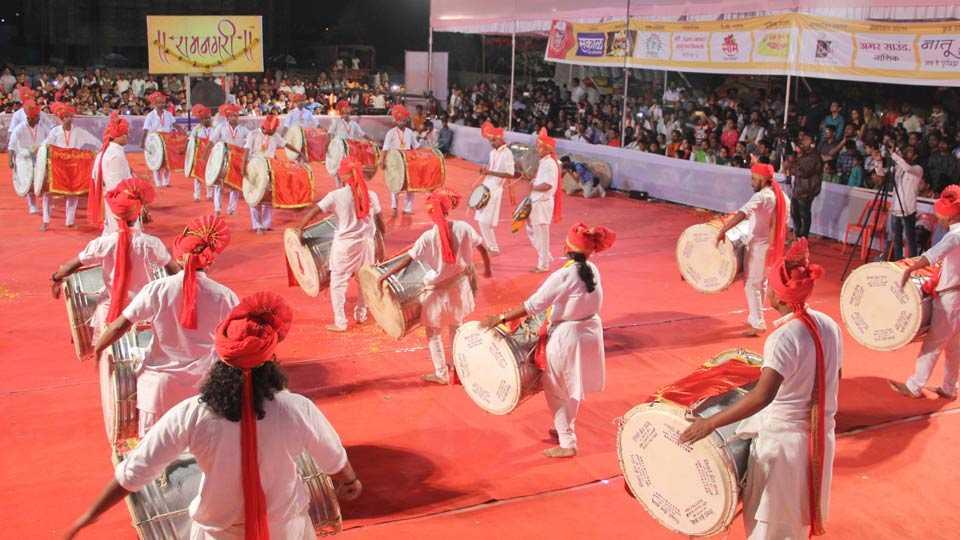 nashik dhol tasha festival