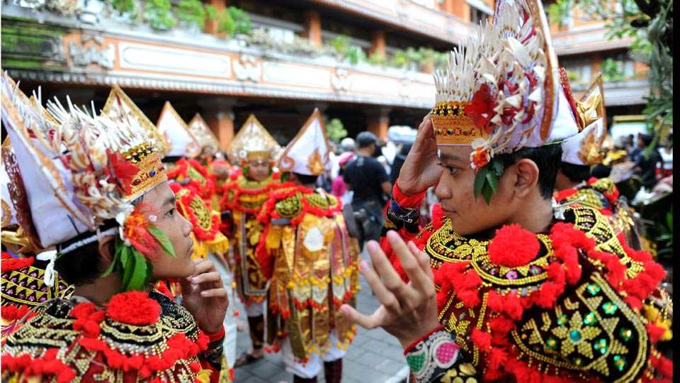 bali new year celebration