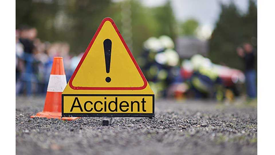 Accident of Motorcycle and Truck Two Died