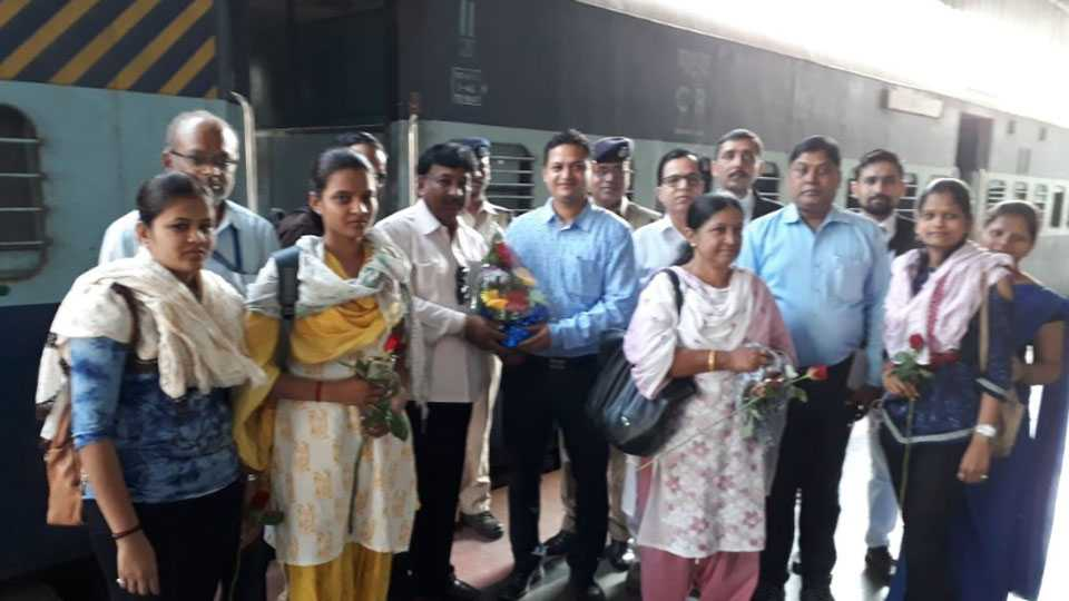 Another bogie for the Daund-Pune passenger