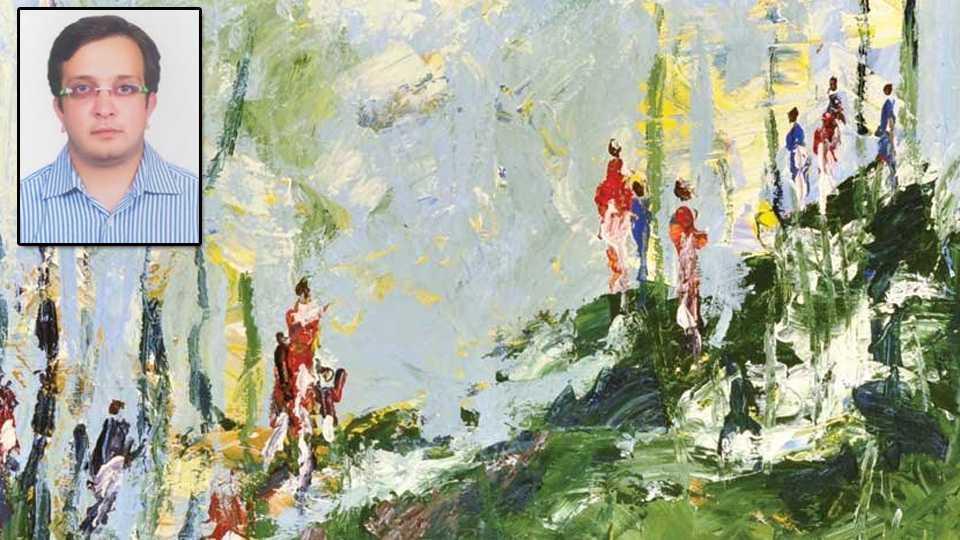 rutvij interest in painting