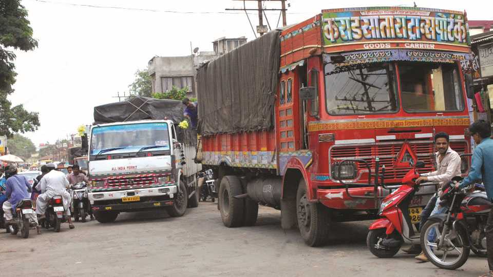 karad heavy vehicle
