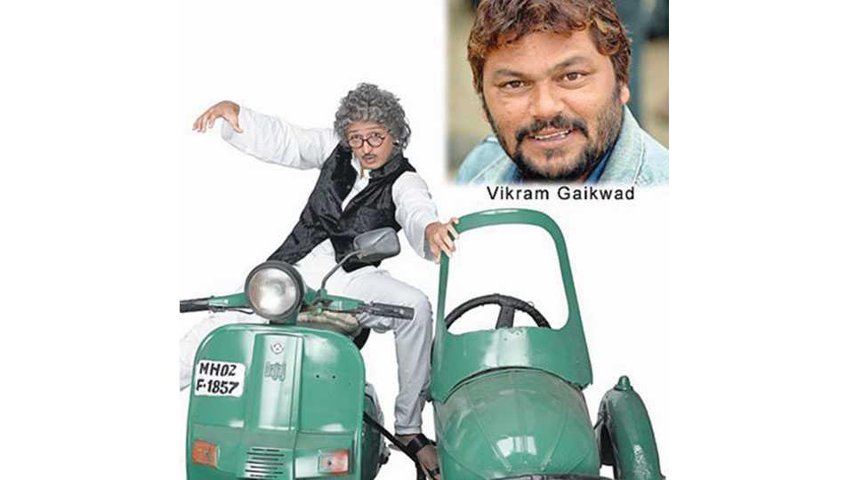 make-up artist Vikram Gaikwad
