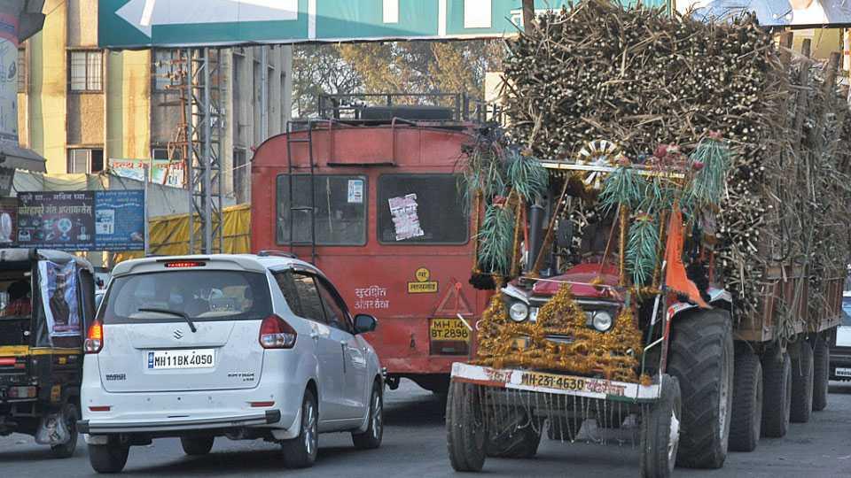 sangli traffic