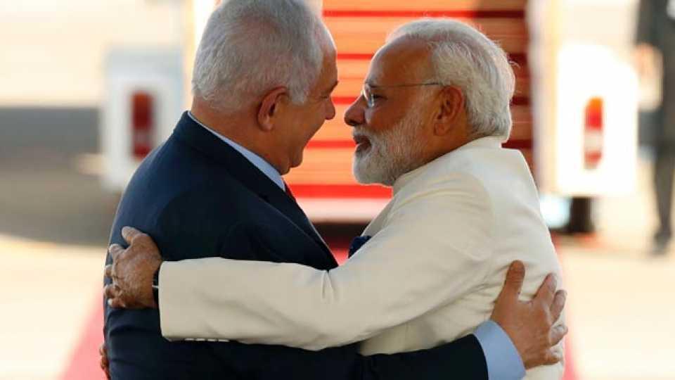 Benjamin Netanyahu and Narendra Modi