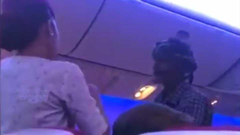 A beggar begging on a Karachi Bangkok Flight Video Goes Viral