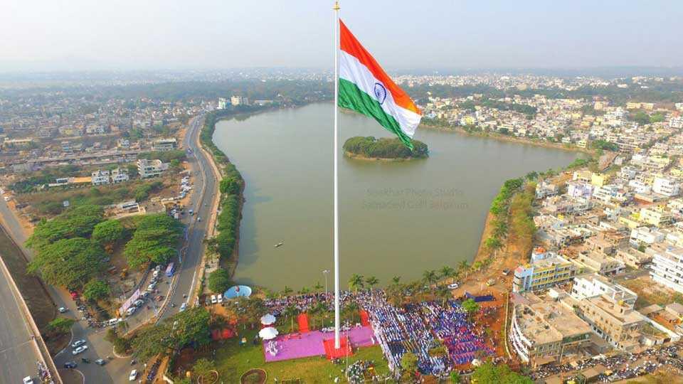 marathi news Belgaum largest countryflag India army