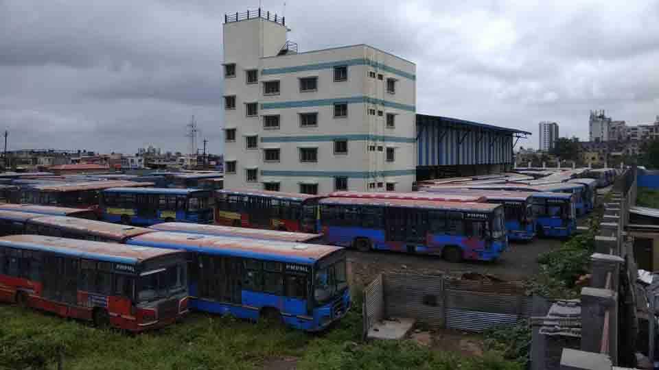 Maharashtra Bandh Hundred Percent Bandh At Bibwevadi Pune