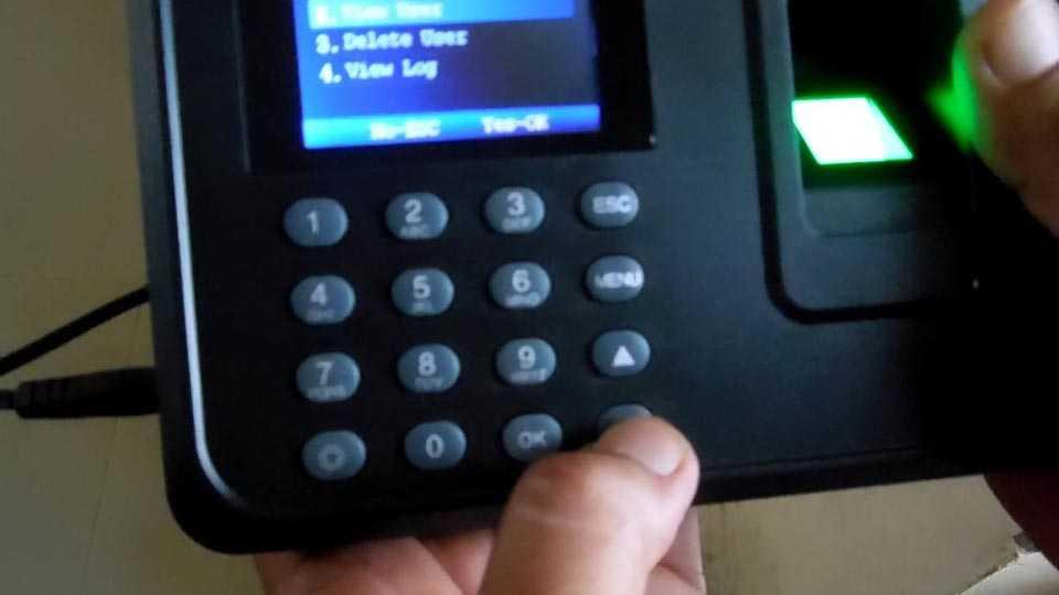 Biometric-attendance