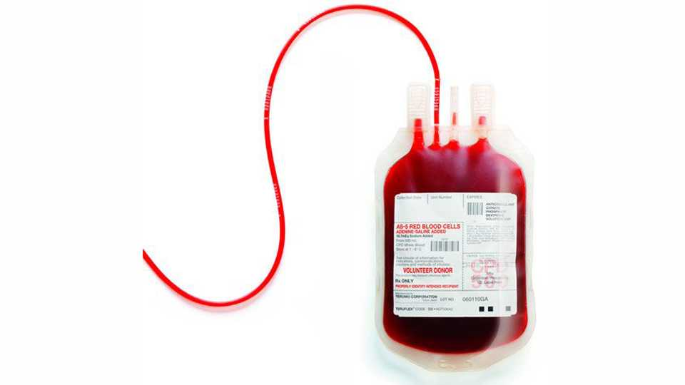There is a shortage of blood in the government blood bank of Nanded