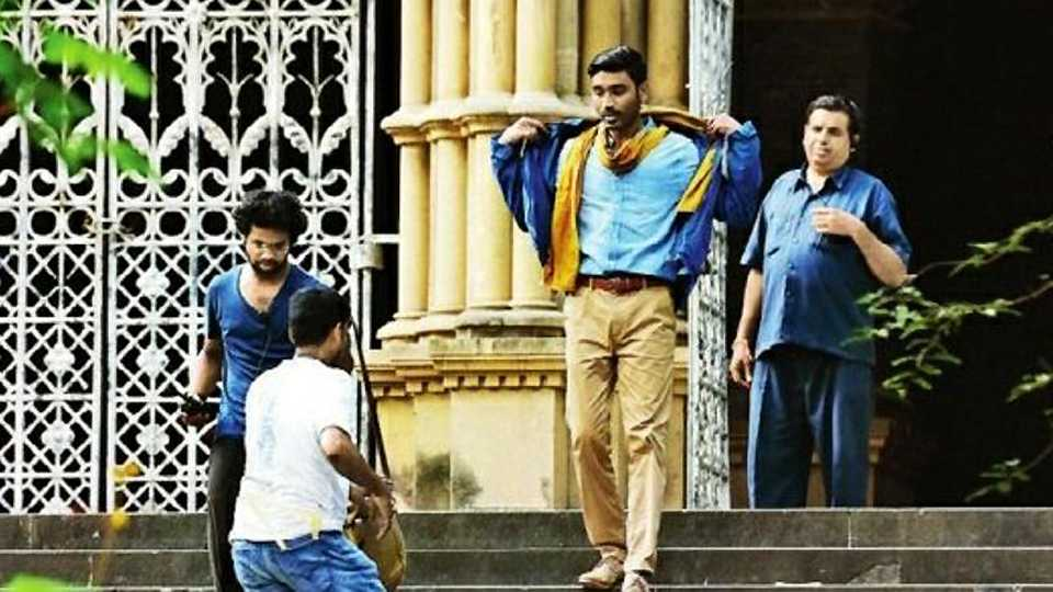 Dhanush begins shooting for his Hollywood debut movie in Mumbai