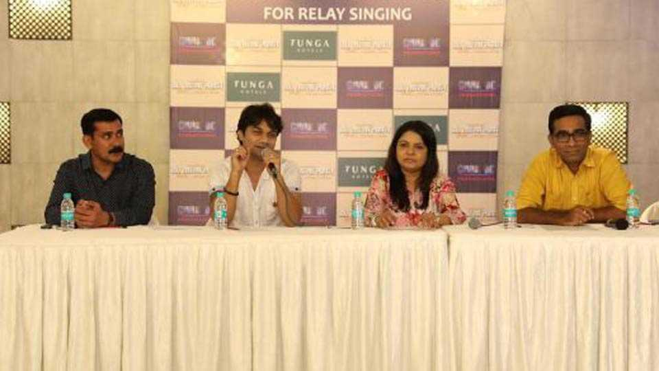 india first relay singing in dr tatya lahane movie