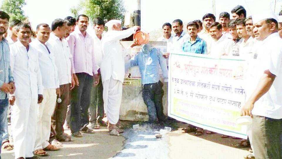 Danghdhishek from Bhaumiputra to CM statue