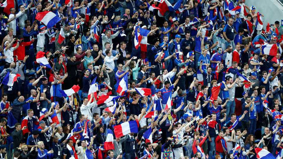 French people over excited for world cup final